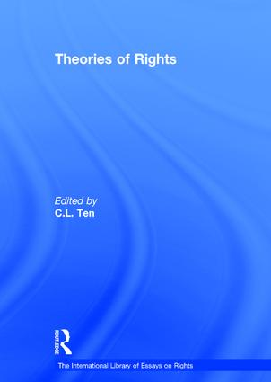 Theories of Rights: 1st Edition (Hardback) book cover