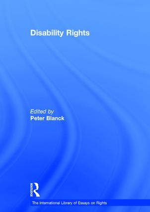 Disability Rights book cover