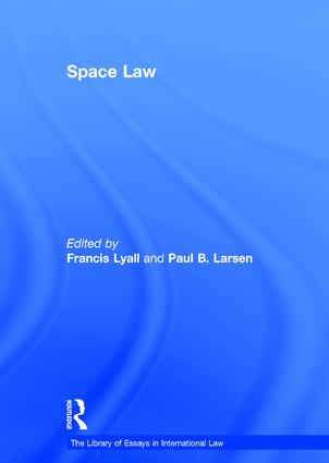 Space Law book cover