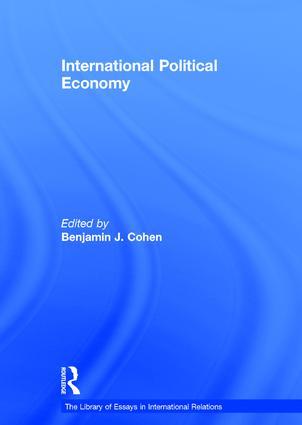 International Political Economy book cover
