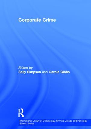 Corporate Crime book cover