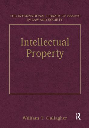 Intellectual Property: 1st Edition (Hardback) book cover