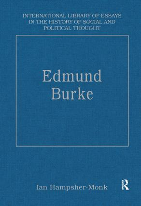 Edmund Burke book cover