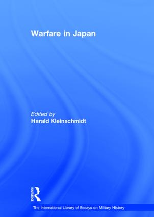 Warfare in Japan: 1st Edition (Hardback) book cover