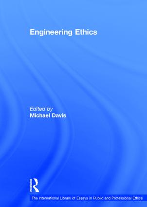 Engineering Ethics (Hardback) book cover