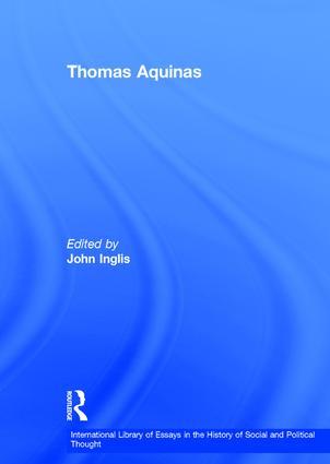 Thomas Aquinas: 1st Edition (e-Book) book cover