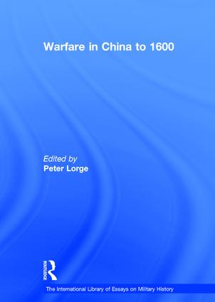 Warfare in China to 1600 book cover
