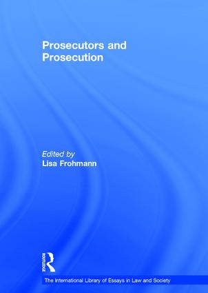 Prosecutors and Prosecution