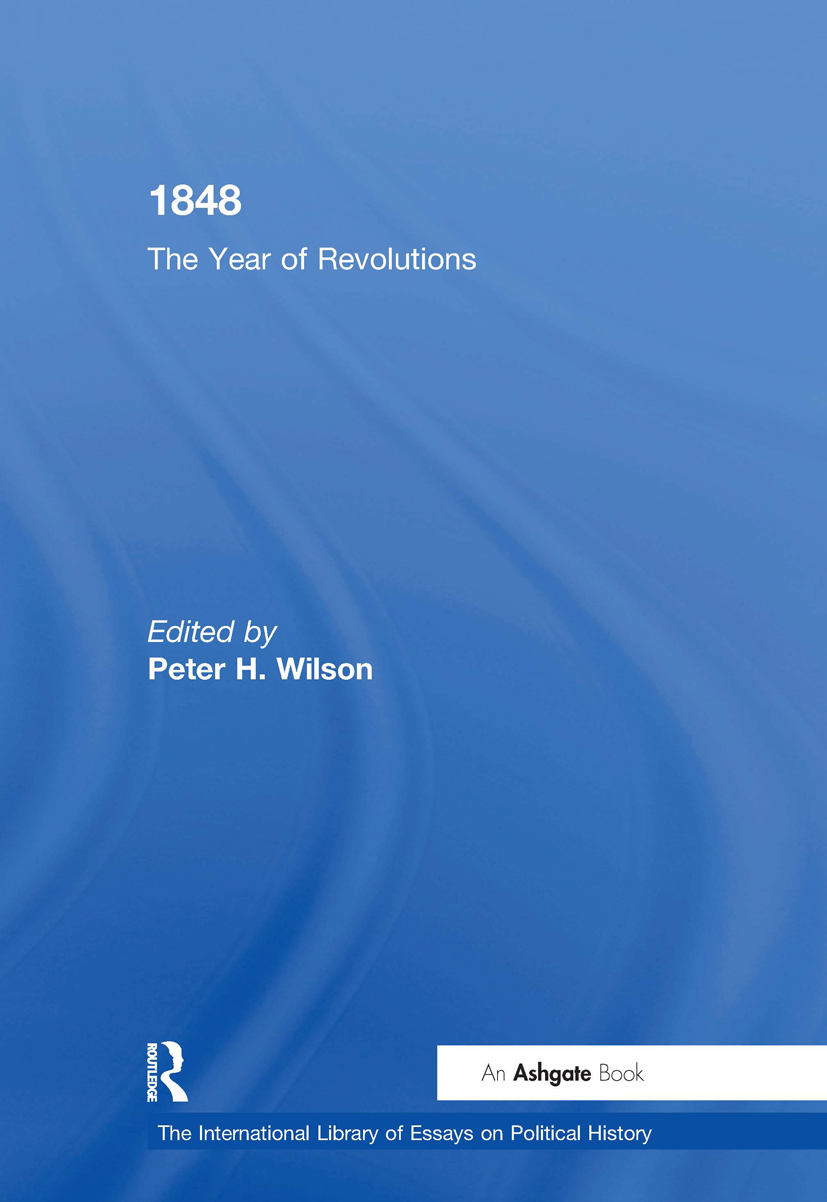1848: The Year of Revolutions, 1st Edition (Hardback) book cover
