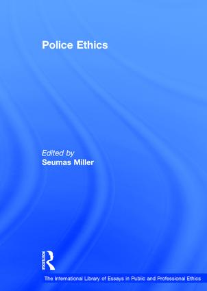 Police Ethics: 1st Edition (Hardback) book cover