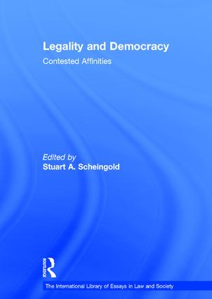 Legality and Democracy: Contested Affinities book cover