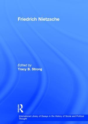 Friedrich Nietzsche: 1st Edition (Hardback) book cover