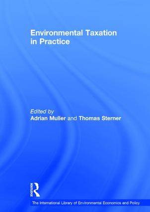 Environmental Taxation in Practice: 1st Edition (Hardback) book cover