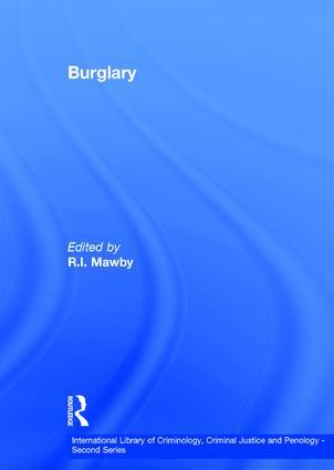 Burglary book cover