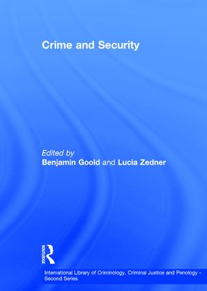 Crime and Security book cover