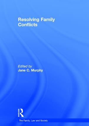Resolving Family Conflicts book cover