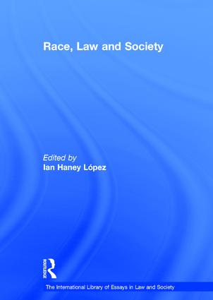 Race, Law and Society: 1st Edition (Hardback) book cover