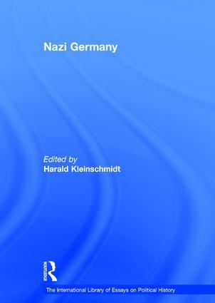 Nazi Germany book cover