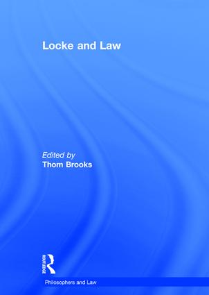 Locke and Law book cover