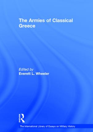 The Armies of Classical Greece: 1st Edition (Hardback) book cover