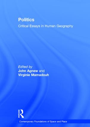 Politics: Critical Essays in Human Geography book cover