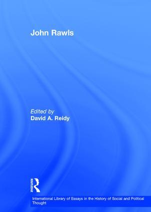 John Rawls book cover