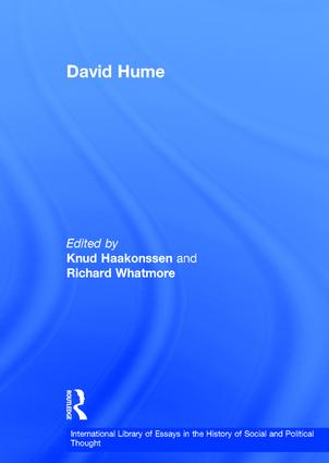 david hume st edition hardback   routledge david hume st edition hardback book cover