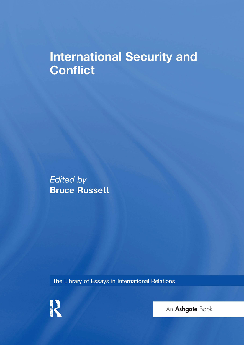 International Security and Conflict: 1st Edition (Hardback) book cover