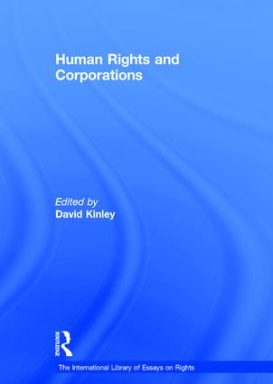 Human Rights and Corporations (Hardback) book cover