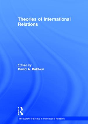 Theories of International Relations book cover