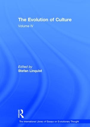 The Evolution of Culture: Volume IV book cover