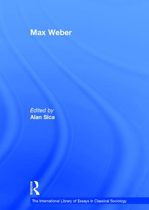 Max Weber book cover