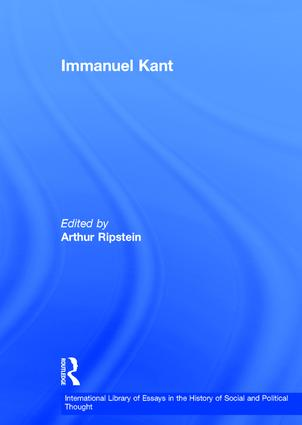 """Kant's Conception of a """"Metaphysic of Morals """""""