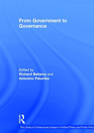 From Government to Governance book cover