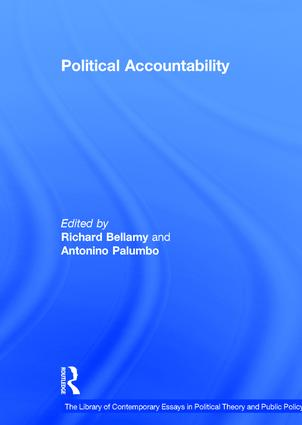 Political Accountability: 1st Edition (Hardback) book cover