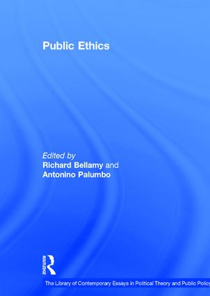 Public Ethics: 1st Edition (Hardback) book cover