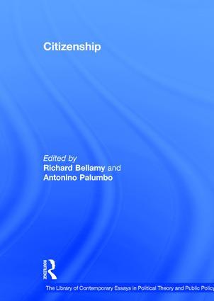 Citizenship: 1st Edition (Hardback) book cover