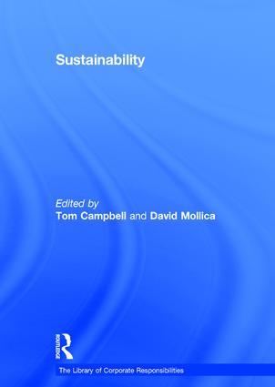 Sustainability: 1st Edition (Hardback) book cover