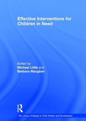 Effective Interventions for Children in Need: 1st Edition (Hardback) book cover