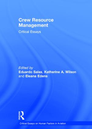Crew Resource Management: Critical Essays, 1st Edition (Hardback) book cover