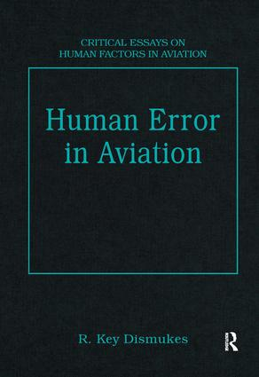 Human Error in Aviation: 1st Edition (Hardback) book cover