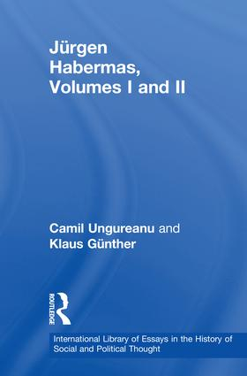 Jürgen Habermas, Volumes I and II book cover