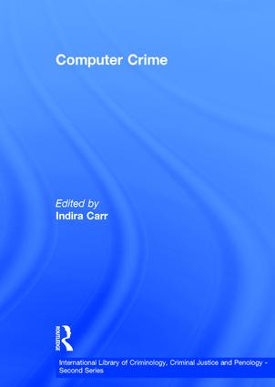 Computer Crime: 1st Edition (Hardback) book cover