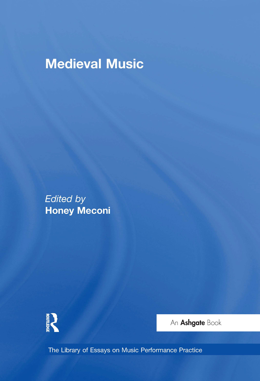 Medieval Music: 1st Edition (Hardback) book cover