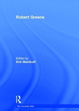 Robert Greene: 1st Edition (Hardback) book cover