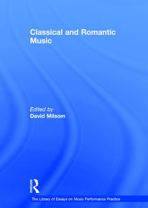 Classical and Romantic Music: 1st Edition (Hardback) book cover