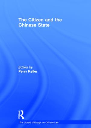 The Citizen and the Chinese State book cover