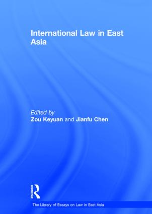 International Law in East Asia