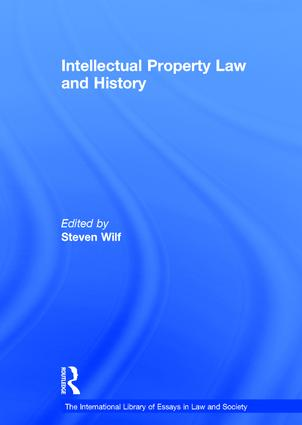 Intellectual Property Law and History book cover