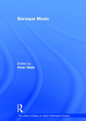 Baroque Music: 1st Edition (Hardback) book cover